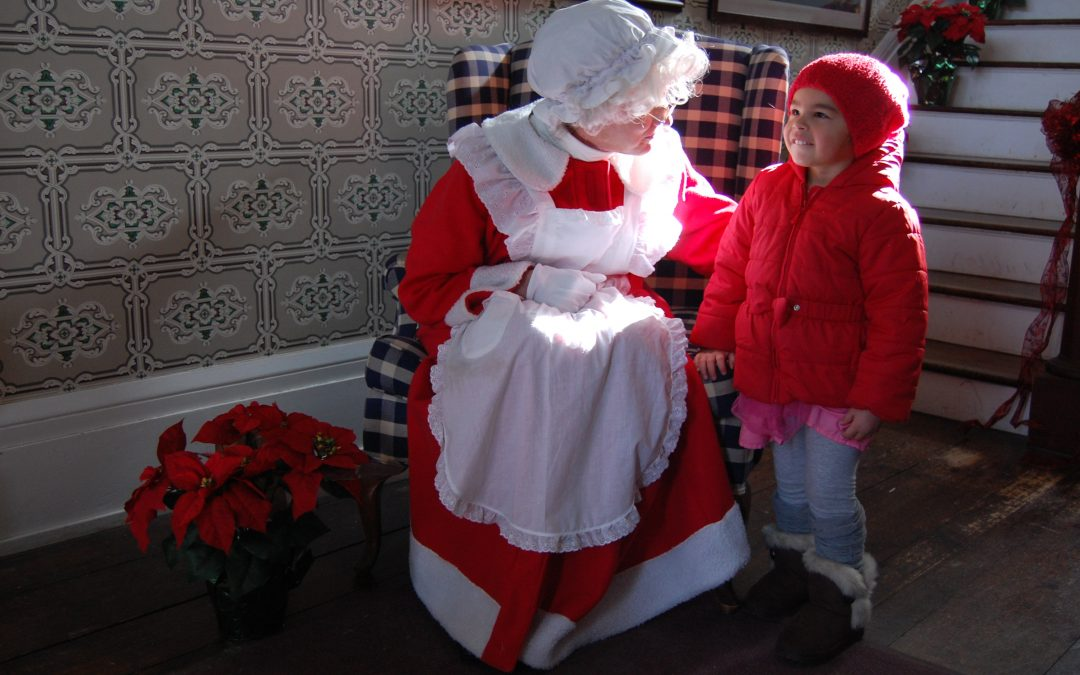 Mother Christmas.Breakfast With Mother Christmas Heritage Village Museum
